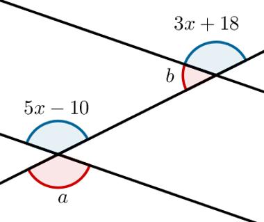 Ângulos alternos externos: Questão 04