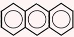 Molécula de antraceno