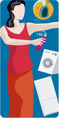 Entre as principais aplicações dos CFCs estão seu uso como propelente em produtos do tipo spray e em compressores para refrigeração doméstica