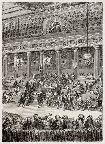 No dia 4 de agosto de 1789, os parlamentares da Assembleia Constituinte aboliram os privilégios oriundos do Antigo Regime da França.