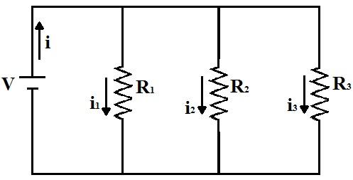 Intensidade da corrente eletrica formula