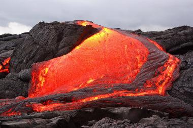 Atividade vulcânica no Hawaii