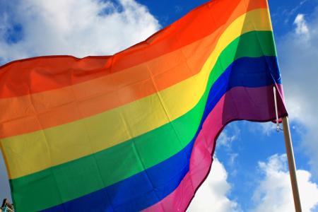 Bandeira LGBT representa lésbicas, gays, bissexuais e transgêneros
