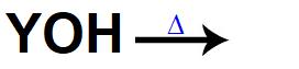 Equação representando uma base sendo dissolvida