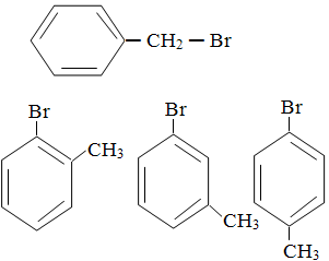 Isômeros do brometo de benzila