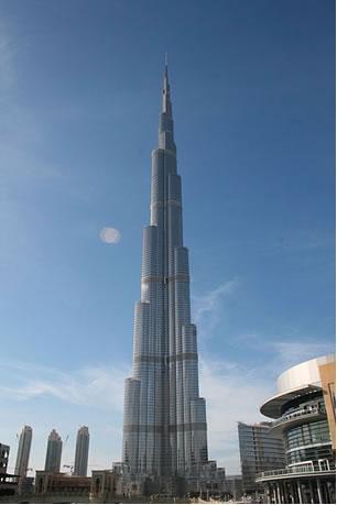 Burj Khalifa Bin Zayid, o edifício mais alto do planeta
