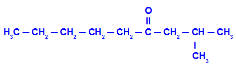 Fórmula estrutural do exemplo 3