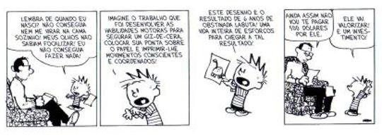 As funções da linguagem podem ser encontradas em vários tipos de textos, inclusive nas histórias em quadrinhos