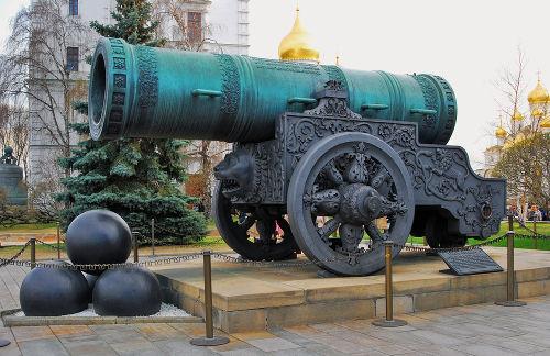 Canhão do Tsar tem mais de 400 anos e é o maior canhão do mundo*