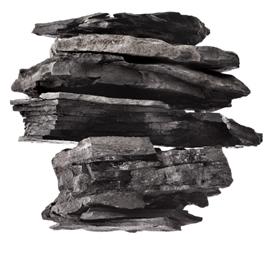 O carvão vegetal vem da madeira