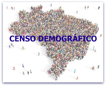 O IBGE coordena a cada dez anos a contagem total da população brasileira, ou seja, o realiza o censo demográfico