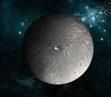 Imagem ilustrada de Ceres