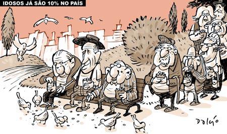 A charge é uma ilustração que tem como objetivo fazer uma sátira de alguém ou de alguma situação atual por meio de desenhos caricatos
