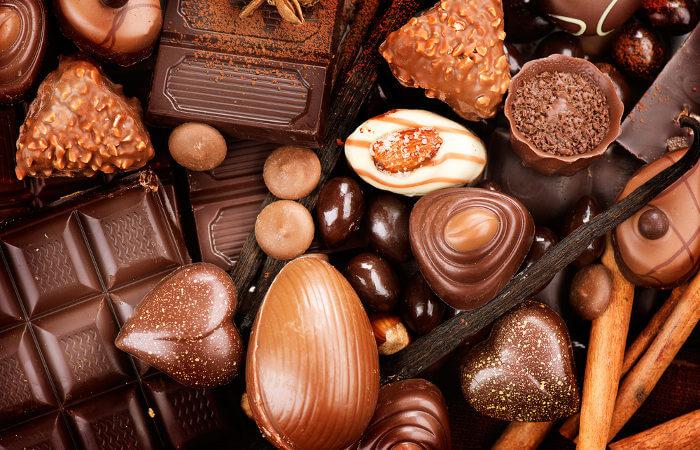 O consumo de chocolate, se feito de maneira adequada, pode trazer benefícios ao organismo.