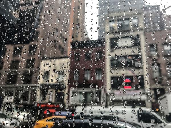 A chuva em área urbana sempre apresenta mais material contaminante e poluente