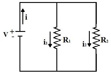 Um circuito elétrico é constituído por uma fonte de tensão e resistências elétricas nas quais é estabelecida uma corrente elétrica