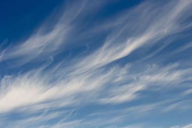 As cirrus são o tipo mais comum de nuvem