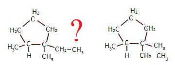 Que tipo de isomeria ocorre nesses compostos cíclicos?