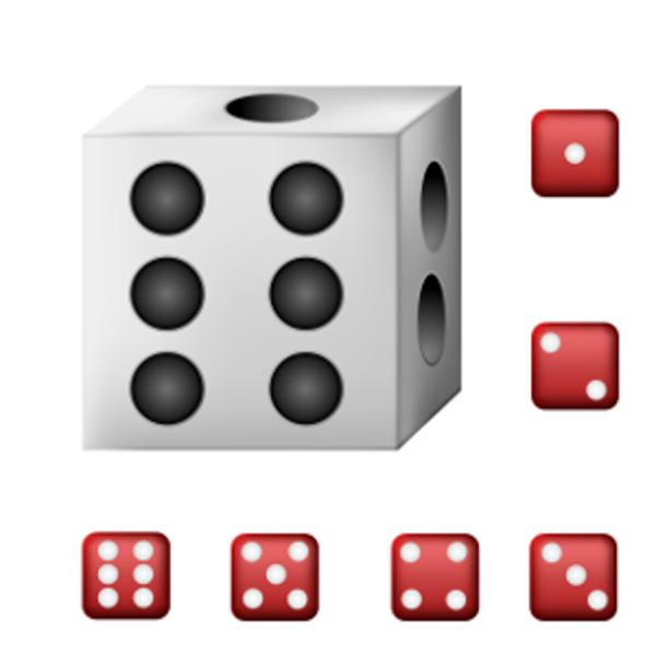 Dado: 6 faces e 6 possibilidades