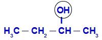 Demarcando o OH no Butan-2-ol