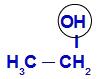 Demarcando o OH no etanol