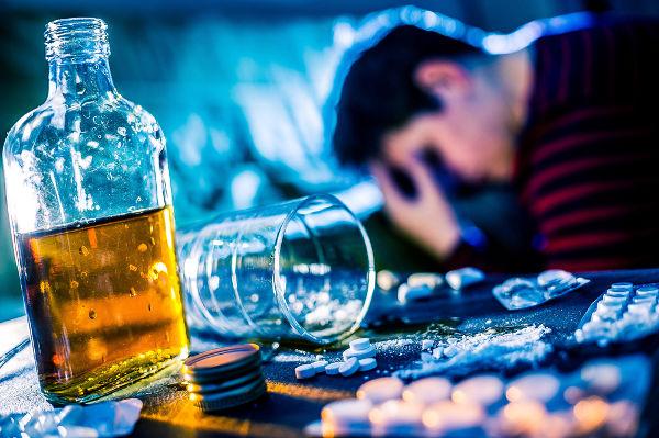A depressão é gerada pela ação do álcool em receptores da substância GABA