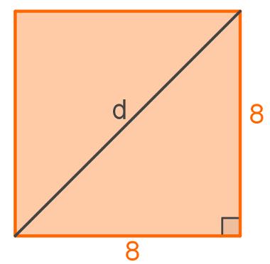 diagonal do quadrado mundo educação