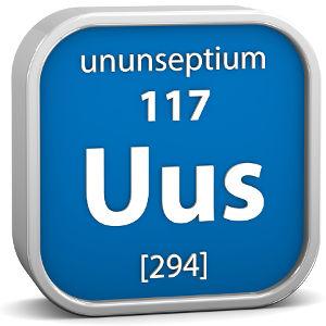 Sigla e dados do Ununseptium