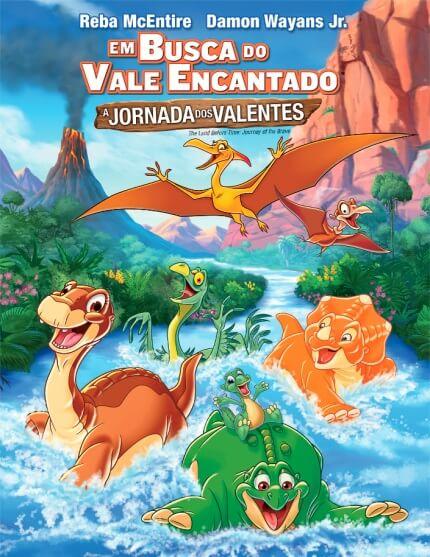 """O filme """"Em busca do vale encantado"""" é uma animação de 1988"""