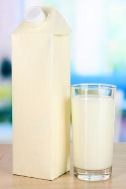A embalagem cartonada protege o leite, sucos e outros alimentos