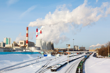 Condições normais: os poluentes dispersam-se facilmente na atmosfera