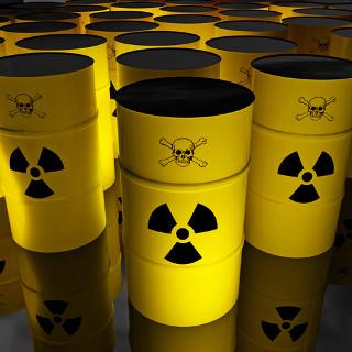 O entulho radioativo gerado no acidente com césio-137 foi removido por meio de tambores envoltos de concreto