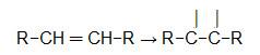 Equação geral da quebra da ligação pi de um alceno