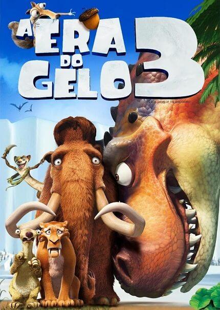 A Era do Gelo 3 é um filme de 2009