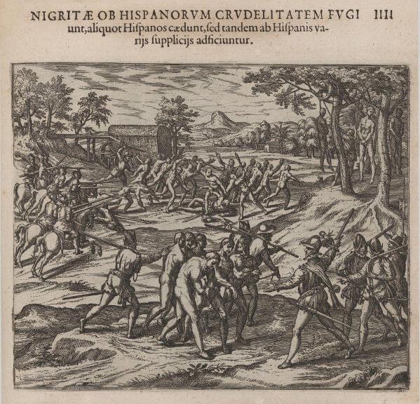 Os indígenas foram o primeiro grupo a ser escravizado no Brasil e em outras partes da América.*