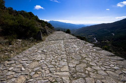 Estrada romana construída na região da atual Espanha
