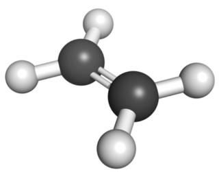 Fórmula do eteno ou etileno