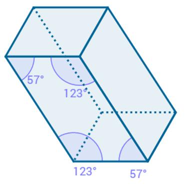 Prisma cujas arestas laterais não são perpendiculares às bases do prisma