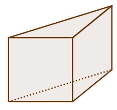 Prisma cujas bases são triangulares