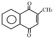 Fórmula de um composto em exercício sobre cetonas
