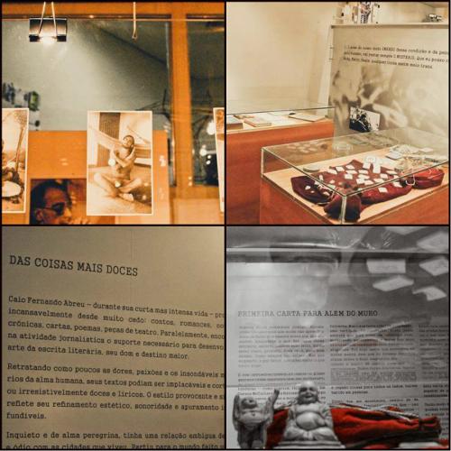 Exposição Caio Fernando Abreu: Doces Memórias, realizada no Centro Cultural Érico Veríssimo, Porto Alegre. Imagens cedidas por Márcia de A. Jacintho