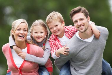 """Imagem retratando o ideário neomalthusiano de """"família ideal"""""""