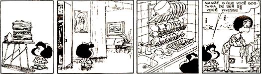 Porta-voz de seu criador, Mafalda discutiu temas pertinentes para a sociedade, entre eles o feminismo