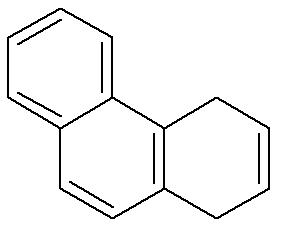 Fórmula estrutural do fenantreno