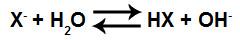 Equação que representa a formação do ácido sem o cátion