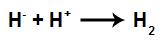 Íons envolvidos na formação do gás hidrogênio