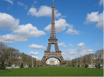 Torre Eiffel em Paris na França
