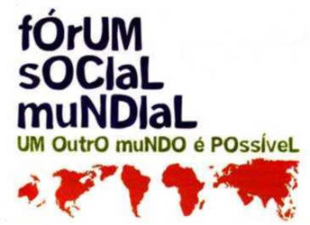 Fórum Social Mundial. Luta do Fórum Social Mundial - Mundo Educação