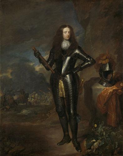 Em 1688, Guilherme de Orange levou tropas para a Inglaterra e forçou Jaime II a fugir do país.