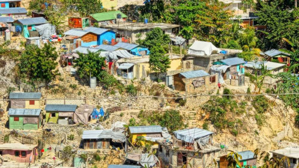O Haiti é o único país subdesenvolvido do continente americano.